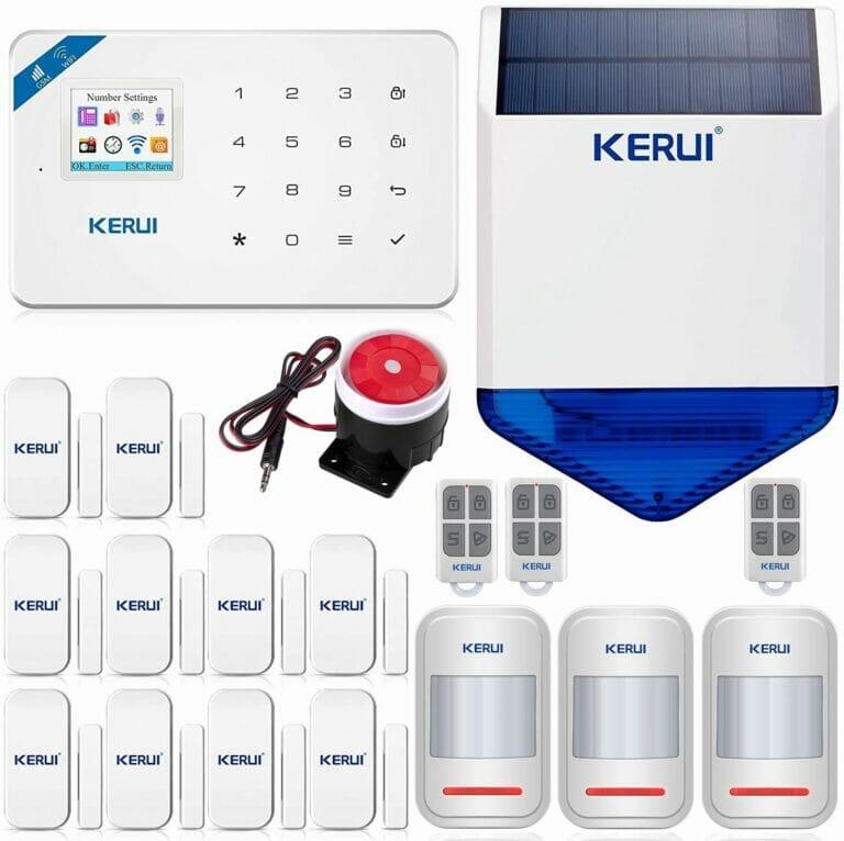 KERUI W18 Wireless WIFI+GSM